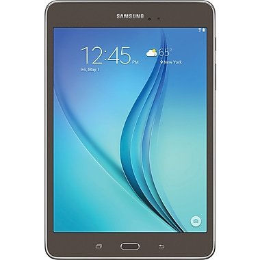 "Image result for Samsung T350NZAAXAR 8.0"" Galaxy Tab A, 16 GB, Android 5.0, Smokey Titanium"