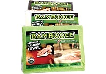 Bambooee Shark Tank Reusable Cleaning Cloth Pouches, 6/Pack (BAMBMINI6)