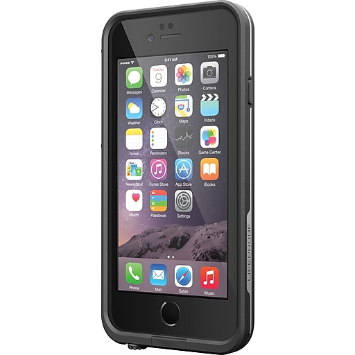 super popular 99202 aa267 LifeProof Fre Case for iPhone 6/6S, Black (77-52563)