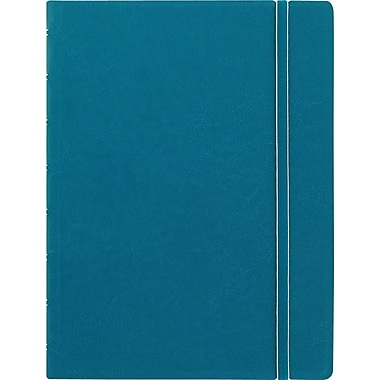 Filofax® - Cahier de notes de format A5, 8 1/4 x 5 3/16 po, 112 pages, aqua
