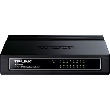 TP-LINK TL-SF1016D 16-port 10/100M Unmanaged Desktop Switch