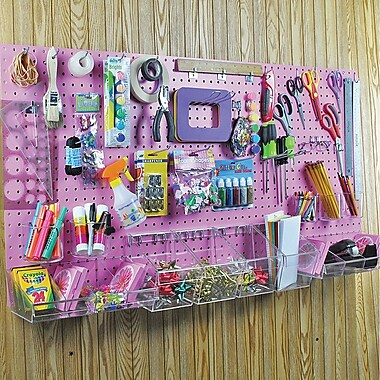 Azar Displays Pegboard Organizer Kit, 24
