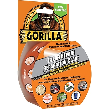 Gorilla Clear Repair Tape, 9yd