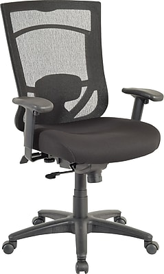 TempurPedic Mesh Computer and Desk Office Chair Fixed Arms