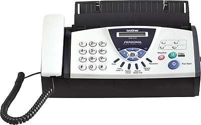 brother personal plain paper fax machine 575 staples rh staples com brother fax 575 user manual guide brother fax 575 user manual guide