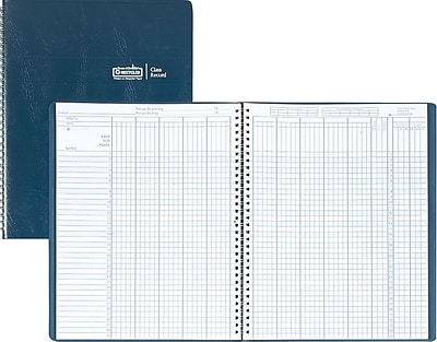 House of Doolittle® Teachers Academic Series Class Record Book, 8-1/2