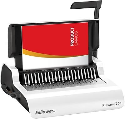 Fellowes® Pulsar Plus 300 Comb Binding Machines, Manual