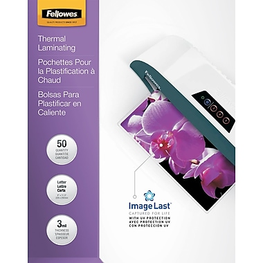 Fellowes® Laminating Pouches, 3mm, 9-1/4x11-3/4