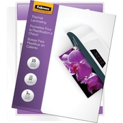 Fellowes Laminating Pouches - Letter Size, 3 mil, 25 pack