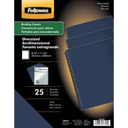 "Fellowes Thermal Binding Presentation Covers, Letter, 1/16"", 15 Sheets, 10 Pack, Black"