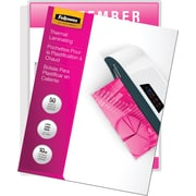 Fellowes Laminating Pouches 10 mil Letter Size, 50/Pack (52042)