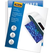 Fellowes Laminating Pouches - Letter Size, 7 mil, 100 pack