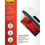 Fellowes Laminating Pouches, SuperQuick – Letter Size, 5 mil, 100 pack