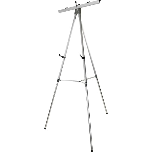 Staples HD Flipchart/Easel, Aluminum (28221US/50450US)