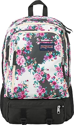 Jansport Envoy Backpack, Multi- Gray Flower