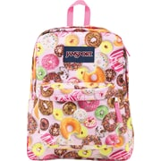 Jansport Superbreak Backpack, Multi Donuts (T50109Y)