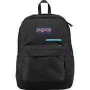 Jansport Digibreak Solid Black, Aqua Polyester Backpack (T50F008 ...