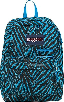 Jansport Digibreak Backpack, Mammoth Blue Wild
