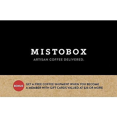 MistoBox $25 Gift Card (75445B2500)