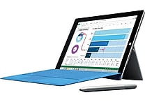 Microsoft Surface Pro 3, Intel® Core™ i3, 64GB, 12'' Display (Windows 10)