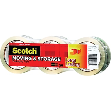 Scotch Long Lasting Moving & Storage Packing Tape, 1.88