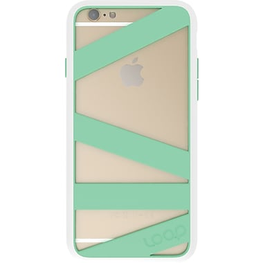 Loop Straitjacket Case for iPhone 6 White/Mint (9MNT)