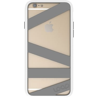 Loop Straitjacket Case for iPhone 6 White/Gray (9WHT)