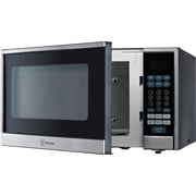 W Appliance 1000W Counter Top 1.1 Cubic Feet Microwave Oven, Stainless Steel Front