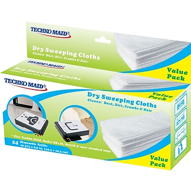 Techko Maid Dry RM011 Sweeping Cloths 10.375