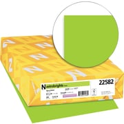"ASTROBRIGHTS Color Paper, 8 1/2"" x 14"", 24 lb., Terra Green, 500 sheets"