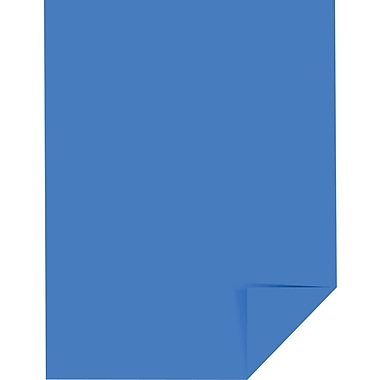 Wausau Paper Astrobrights Colored Card Stock, Celestial Blue , 8 1/2