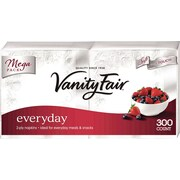 Vanity Fair® Everyday Napkins, 2-Ply, 300/Pack (35503/14)