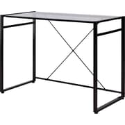 Staples® Axis Glass Desk, Black