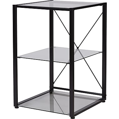 Axis Glass Corner Stand