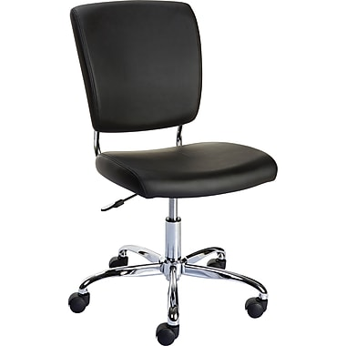 Staples Nadler Luxura Armless Office Chair Black 27373r Ca