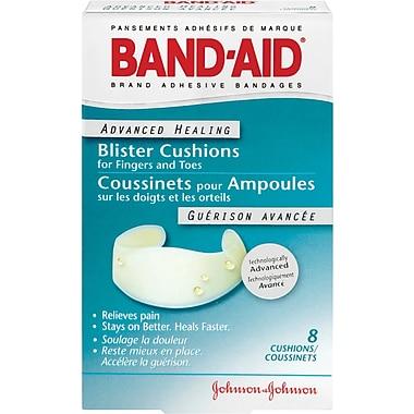 BAND-AID Brand® - Pansements Guérison avancée Coussinets pour les ampoules sur les doigts et les orteils; paquet de 8