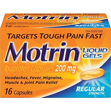 Motrin® IB Liquid Gels, Regular Strength
