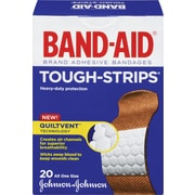 BAND-AID Brand® TOUGH-STRIPS Fabric Bandages, One Size, 20/Pack
