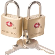 Austin House Travel Sentry® Padlock, 2/Pack