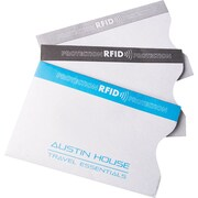 Austin House RFID Protection Card Sleeves, 3/Pack