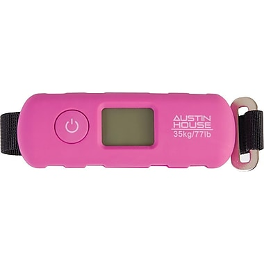 Austin House Digital Compact Travel Scale, Assorted