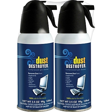 Dust Destroyer Duster 3.5oz., 2/Pack