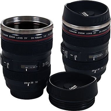 Set of 2 Camera Lens Coffee Mu...