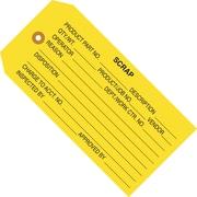 "Staples - 4 3/4"" x 2 3/8"" - ""Scrap"" Inspection Tag, 1000/Case"