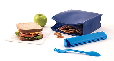 Designed By Students Lunch Bag Navy/Light Blue