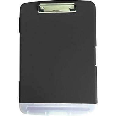 StaplesMD – Planchette à pince pour boîte de rangement, noir