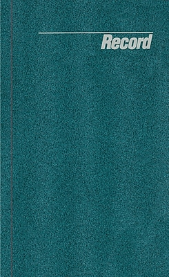 National Brand® Granite Series Record Book, Hard Cover, Bound, 150 Pages, 12 1/4