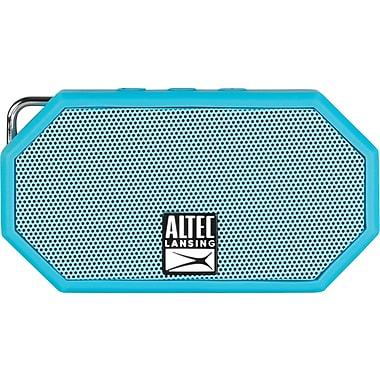 Altec Lansing Mini H20 Speaker Rugged Bluetooth Speaker, Blue