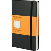 Hard Cover Notebook, Ruled, 5 1/2 X 3 1/2, Black Cover, 192 Sheets
