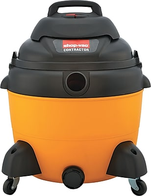 Economy Wet/dry Vacuum, 16 Gal, 120 V, Yellow/black